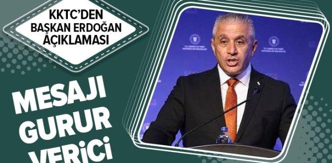 Son dakika: KKTC'den flaş Başkan Erdoğan açıklaması ve AB'ye Rumlarla ilgili çağrı .