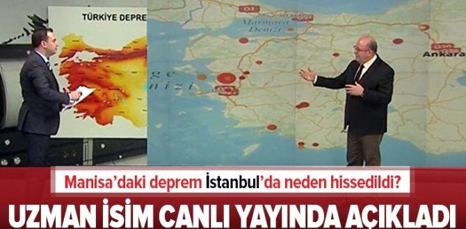Manisa ve Ankara'daki son depremler ne anlama geliyor? Bu depremler İstanbul'u etkiler mi? Şükrü Ersoy A Haber'e anlattı.
