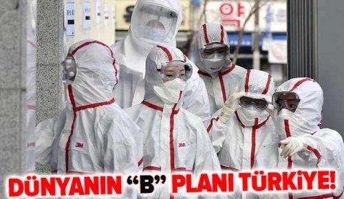 """Dünyanın """"B"""" planı Türkiye! Başkan açıkladı: Koranavirüs sonrası siparişleri yetiştirmek için mesaileri artırdık."""
