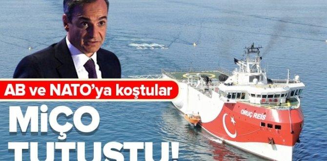 Türkiye'nin yeni NAVTEX ilanının ardından Yunanistan tutuştu! AB ve NATO'ya koştular