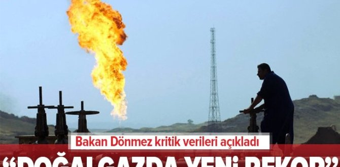 Son dakika: Enerji ve Tabii Kaynaklar Bakanı Fatih Dönmez'den flaş açıklama: Doğalgazda yeni rekor