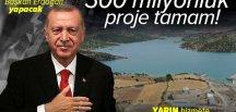 Son dakika: Başkan Erdoğan Yukarı Afrin Barajı'nı yarın açacak