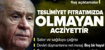Son dakika: MHP Genel Başkanı Devlet Bahçeli'den yangınlar ve kazalar hakkında flaş açıklama.