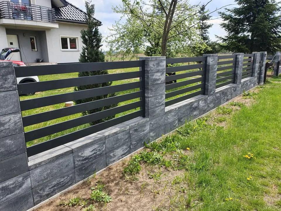 ALUgate ogrodzenie aluminiowe AG100 1