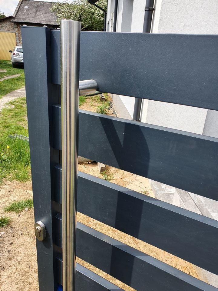 ALUgate ogrodzenie aluminiowe AG100 3