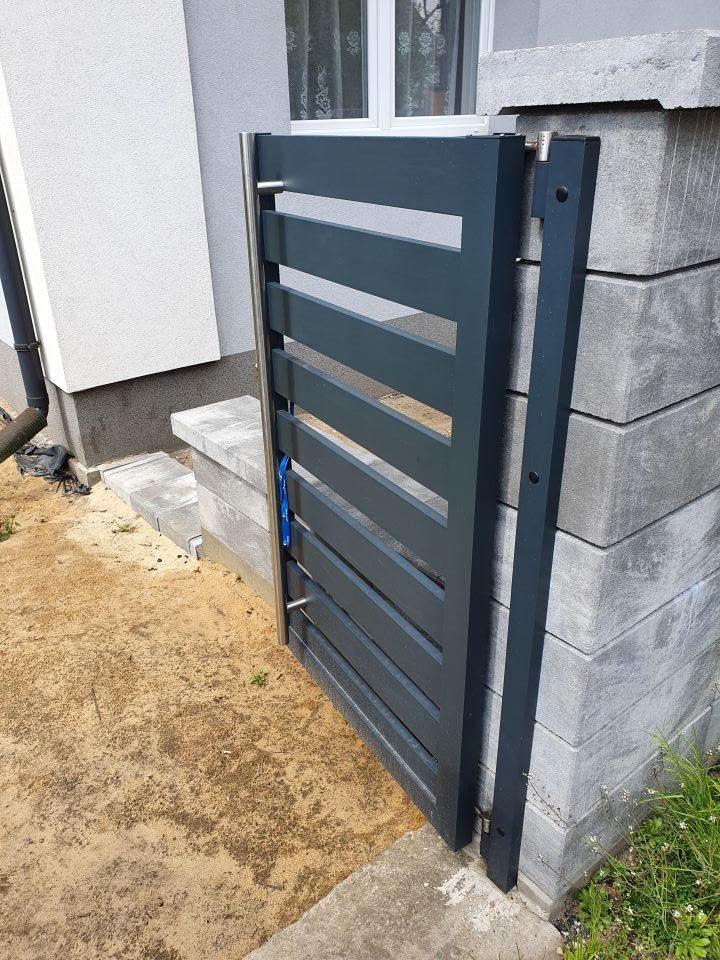 ALUgate ogrodzenie aluminiowe AG120 3