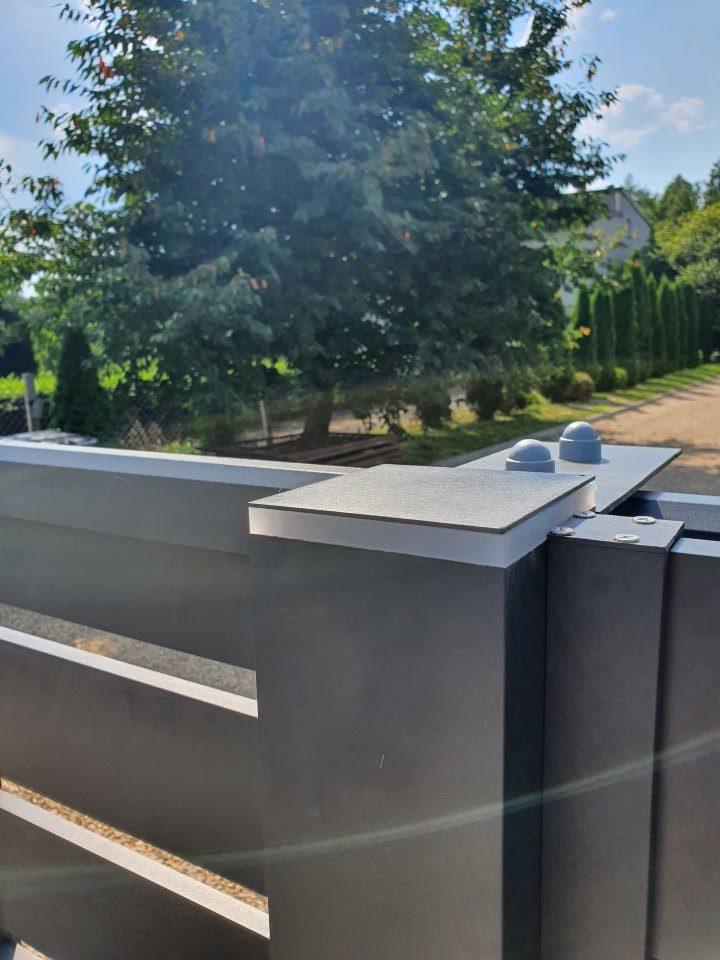 ALUgate ogrodzenie aluminiowe AG150 3