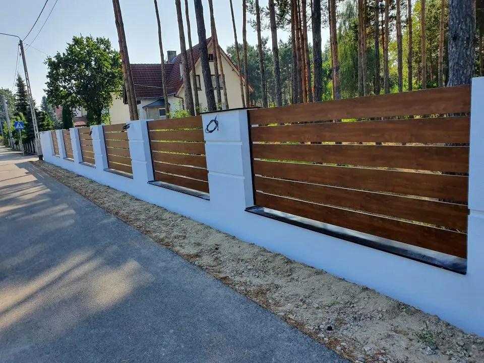 ALUgate ogrodzenie aluminiowe AG200 1