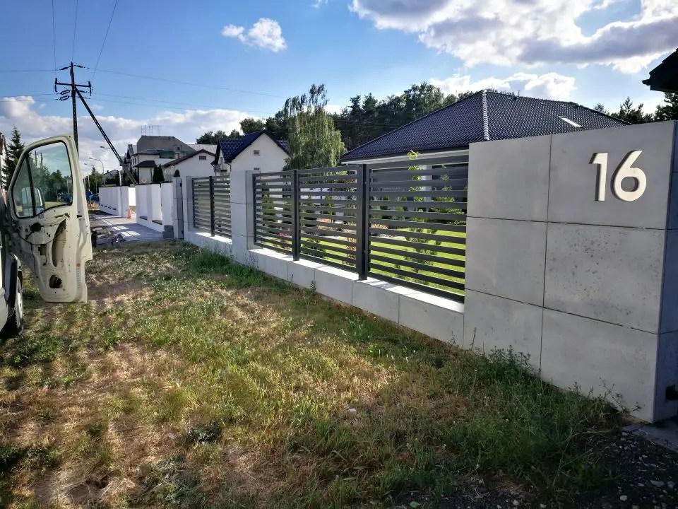 ALUgate ogrodzenie aluminiowe AG80 2