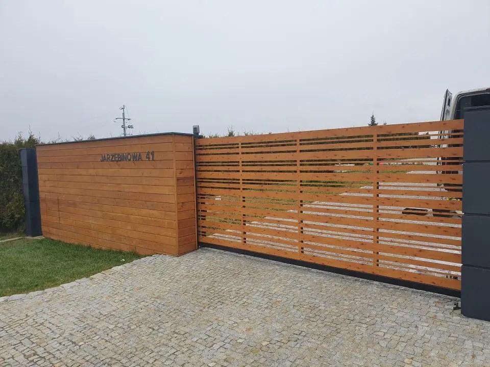ALUgate ogrodzenie aluminiowe CONFIGURE 1
