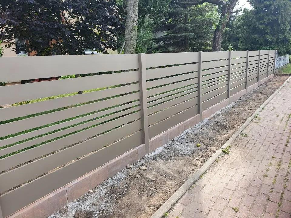 ALUgate ogrodzenie aluminiowe CONFIGURE 5