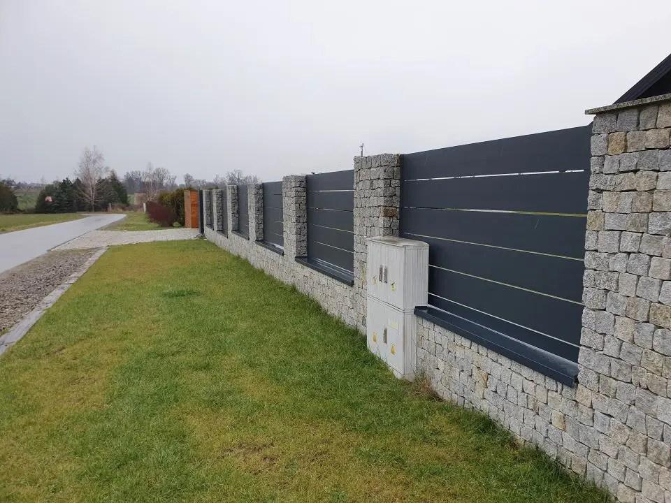 ALUgate ogrodzenie aluminiowe AG250 i CONFIGURE 3