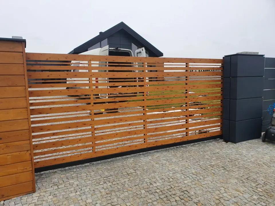 ALUgate ogrodzenie aluminiowe AG250 i CONFIGURE 6