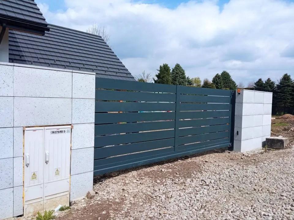 ogrodzenie aluminiowe ALUgate AG200 - BORDER 12