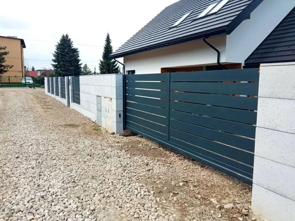 ogrodzenie aluminiowe ALUgate AG200 - BORDER 4