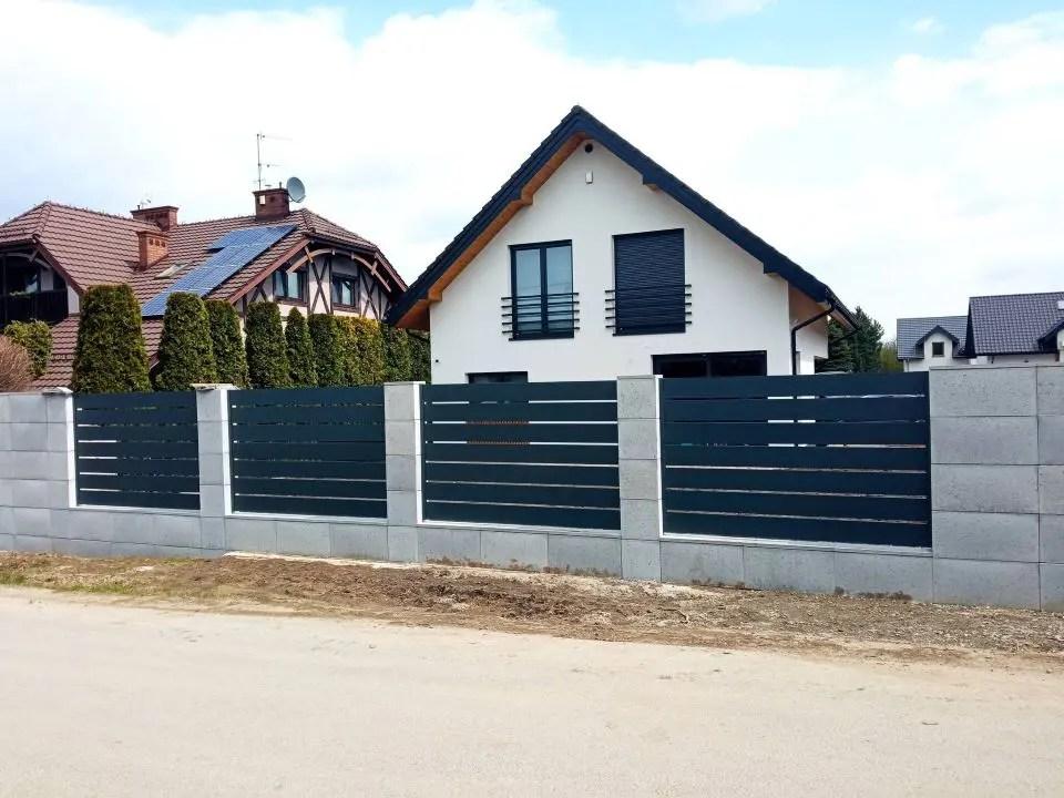 ogrodzenie aluminiowe ALUgate AG200 - BORDER 7