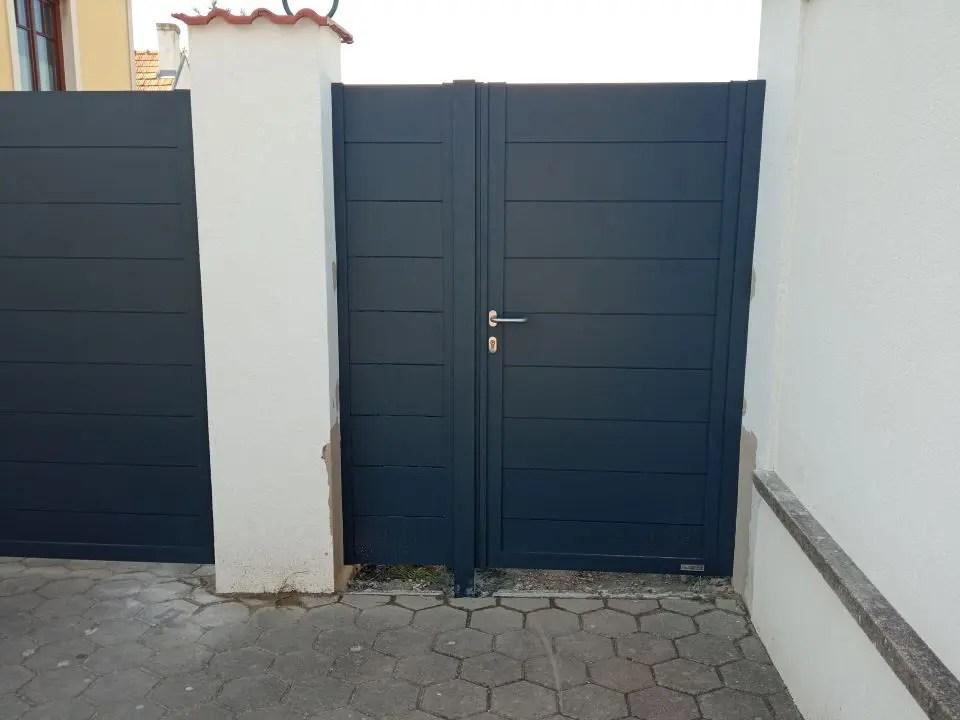 ALUgate ogrodzenie aluminiowe FULL 10