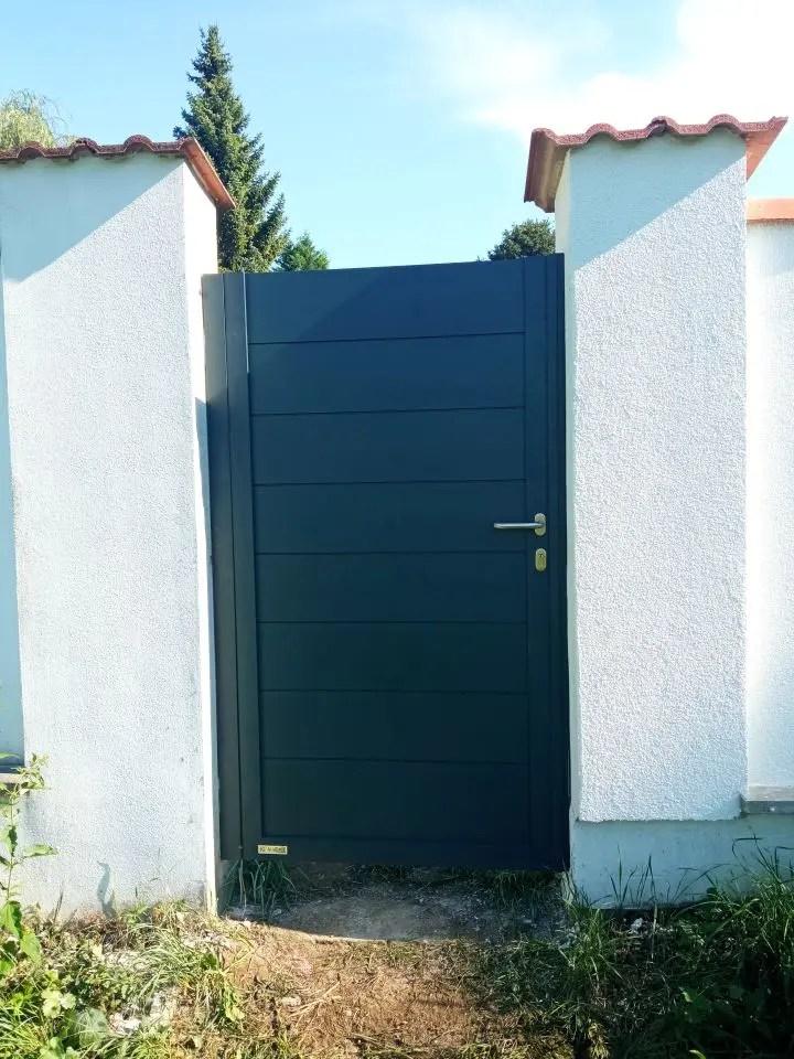 ALUgate ogrodzenie aluminiowe FULL 6