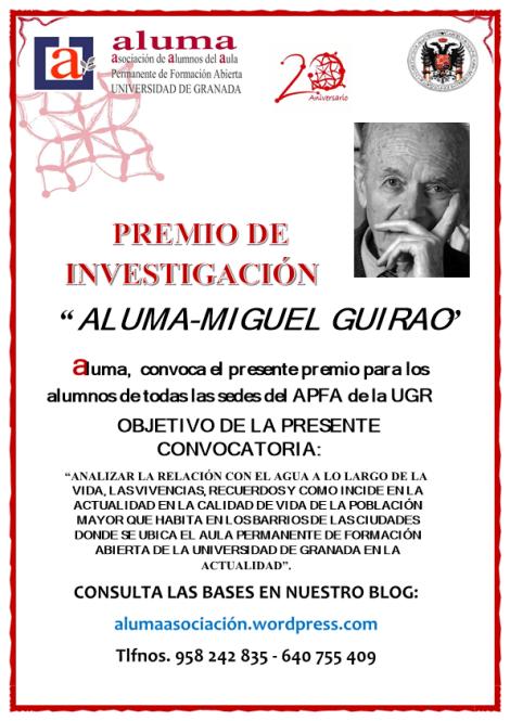 CARTEL PREMIO DE INVESTIGACIÓN