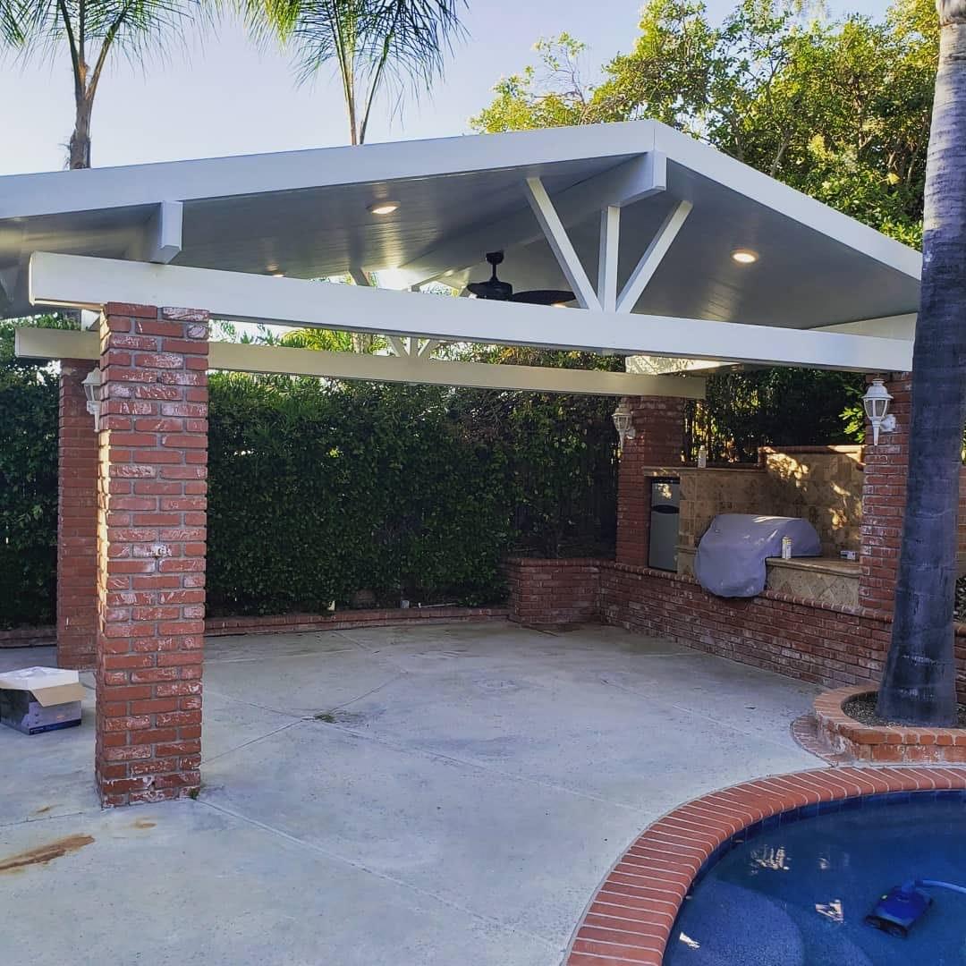aluminum patio covers pomona alumawood