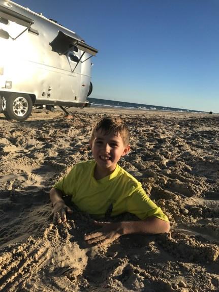 Padre Island beach fun