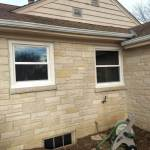 White Vinyl Double Hung Windows