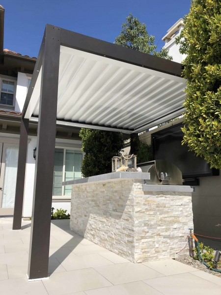 Equinox Louvered Roof System Patio Covers Alumawood