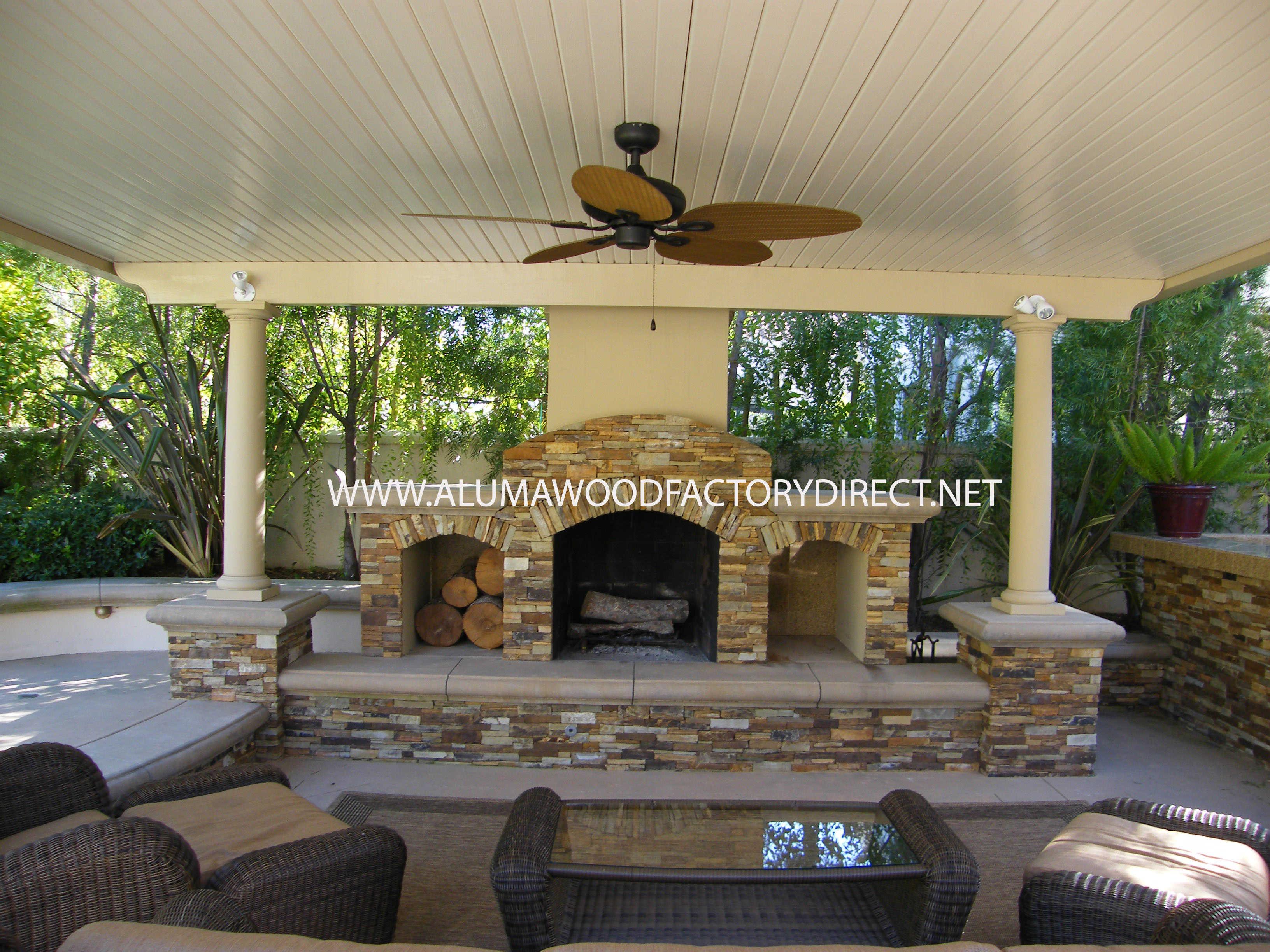 patio cover cost using alumawood
