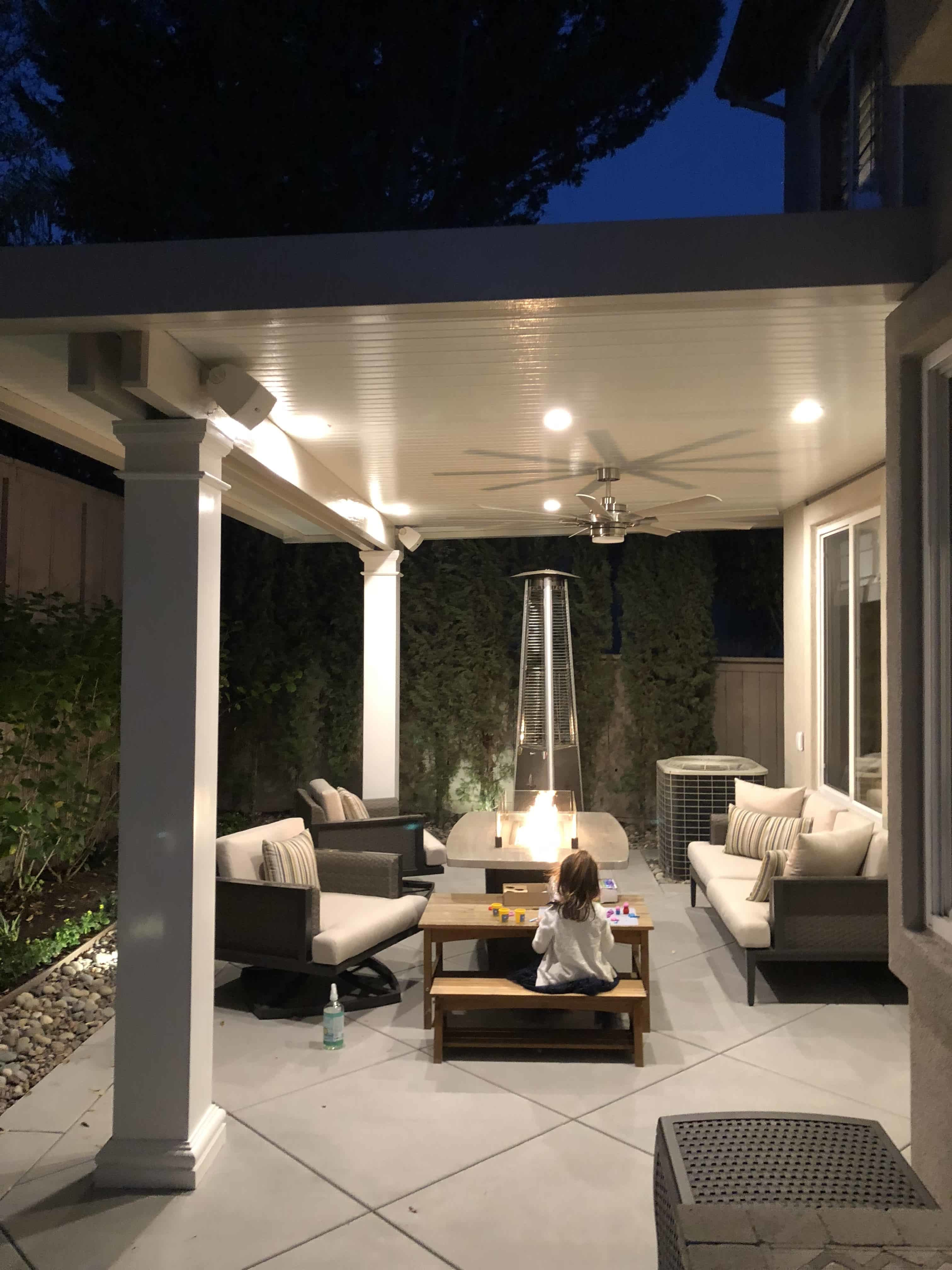 residential shade structures using