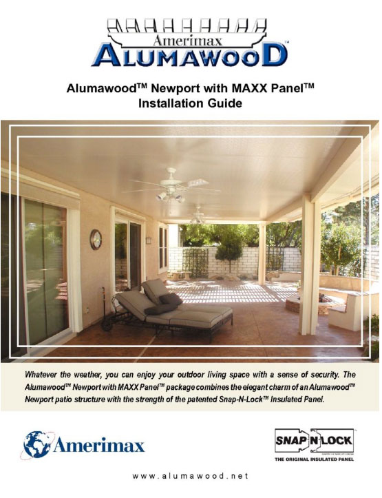 instructions alumawood products