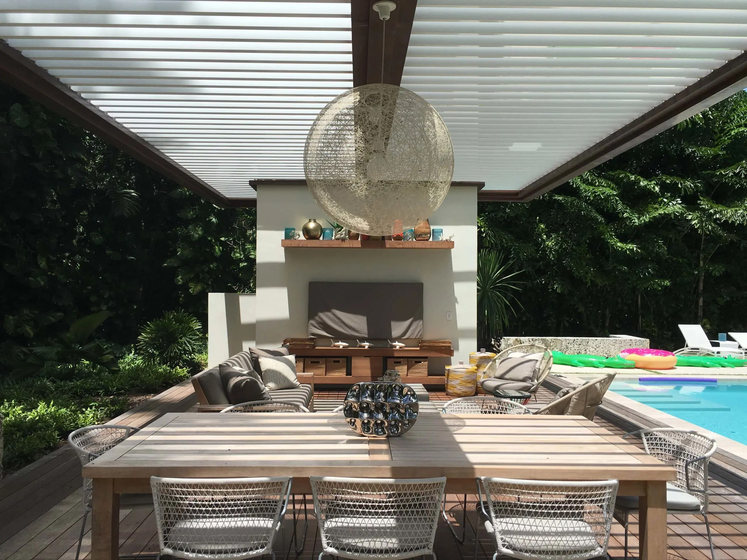 equinox louvered roof motorized patio