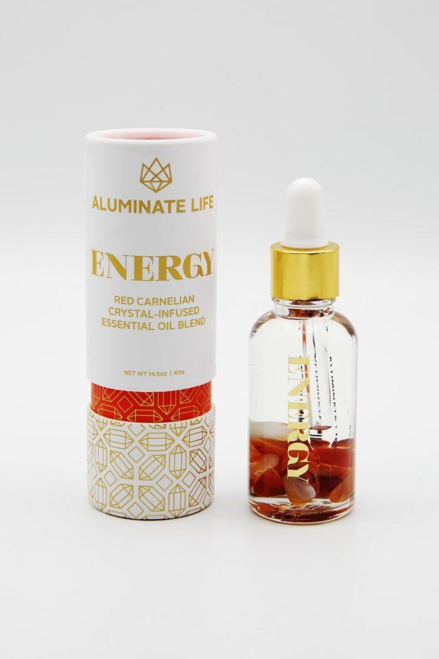 Aluminate Life Energy Essential Oil Vial