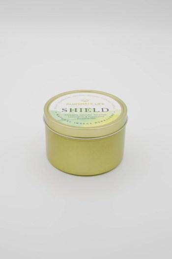 Shield Candle Tin 7