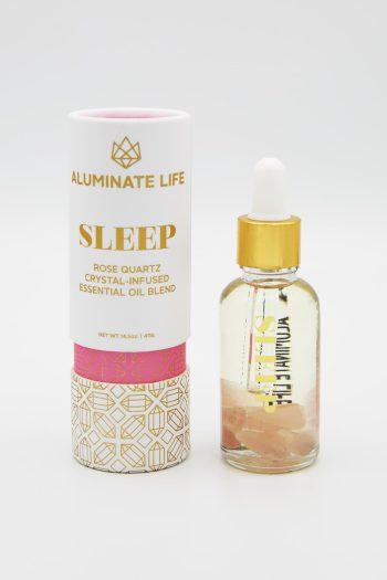 Aluminate Life Sleep Essential Oil Vial