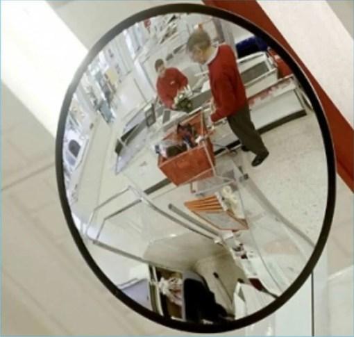 Como Ahorrar Dinero Eligiendo espejos de seguridad redondos 8847-8257