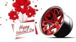 Kärleksfälgar till alla hjärtans dag