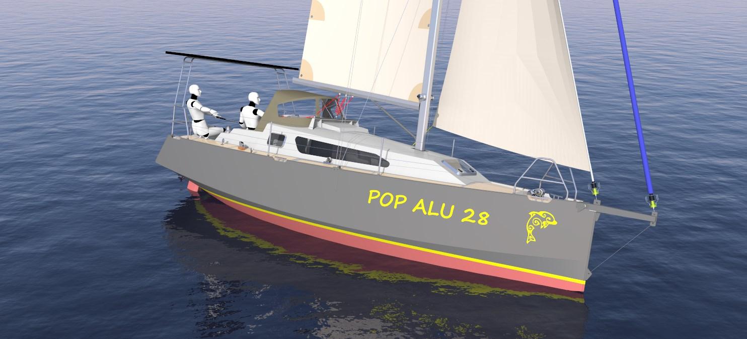 Pop Alu 28 Aluminum Boat Kits