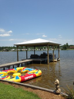 Wood Boat Cover
