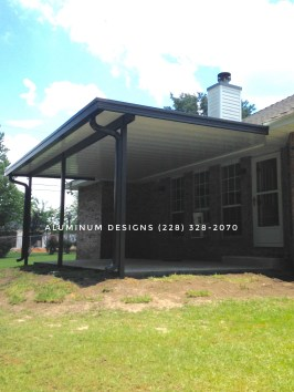 Non-insulated patio cover
