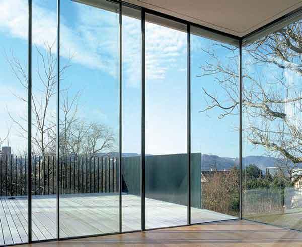 زجاج سيكوريتمنطبق ابواب زجاجية تنطويFolding