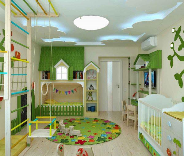 اجمل غرف الاطفال 2018