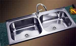 احواض مطبخ استانلس رخام