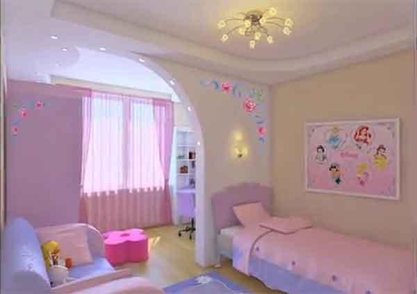 ديكورات غرف نوم اطفال مودرن اشكال والوان فخمة