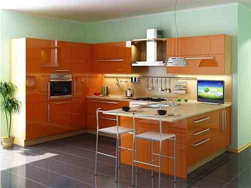 مطابخ تركية مفتوحة على غرفة الطعام