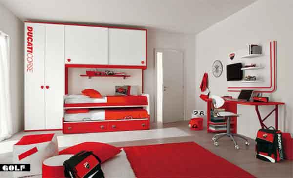 اجمل غرف نوم اطفال باحدث الديكورات