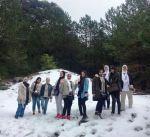 """وفد طالبات """"كن من المتفوقين"""" يزور حديقة """"لوغارا"""" الوطنية بألبانيا"""