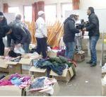 """""""الهلال الأحمر"""" توزع مساعدات على 200 أسرة سورية لاجئة بالعاصمة الأردنية"""