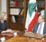 الرئيس اللبناني: الحل السياسي في سورية يضع حدا للحرب ومعاناة النازحين