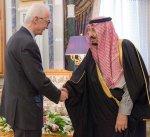 خادم الحرمين الشريفين يبحث مع المنسق الأوروبي لمكافحة الإرهاب أوجه التعاون