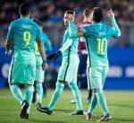 برشلونة يكتسح إيبار برباعية في ختام الجولة التاسعة عشر من الدوري الإسباني